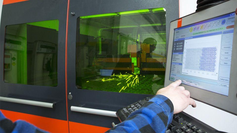 laser cutting of steel   Astromet   Leszno