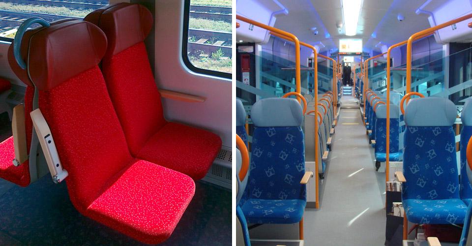 pipe frame of the seat (railway) | Astromet