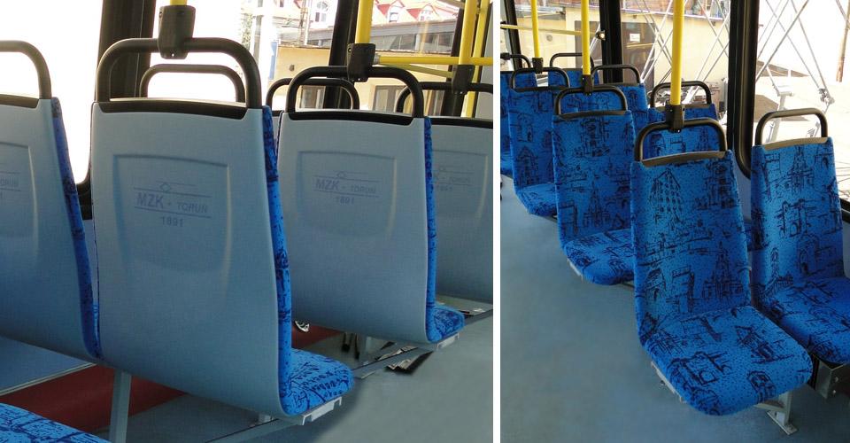 pipe frame of the seat (transport miejski) | Astromet