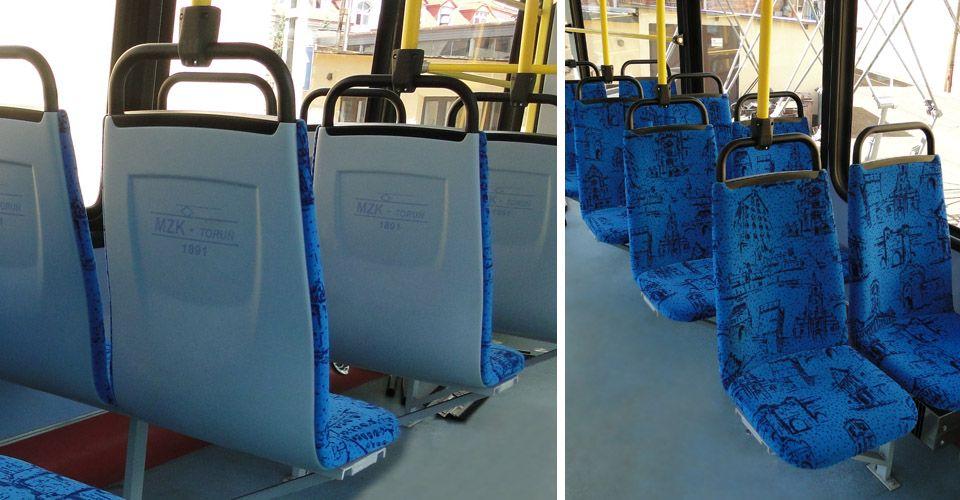 pipe frame of the seat (transport miejski)   Astromet