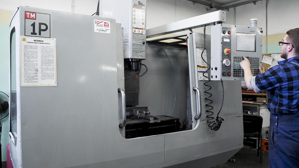 frezowanie CNC | Astromet | Leszno